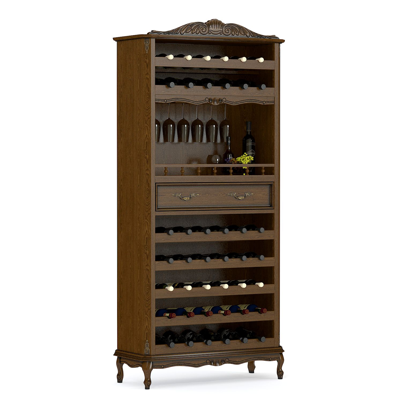 Купить винный бар из массива дерева