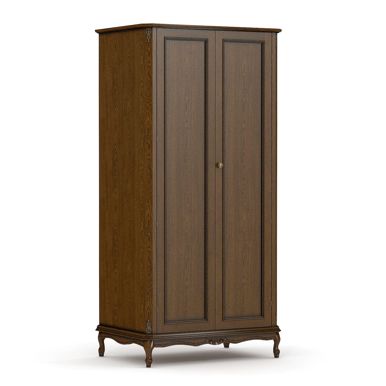 Купить шкаф для одежды из массива №2