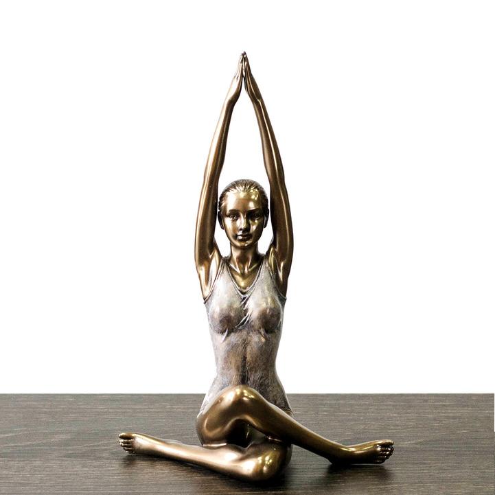 statuetka devushka yoga
