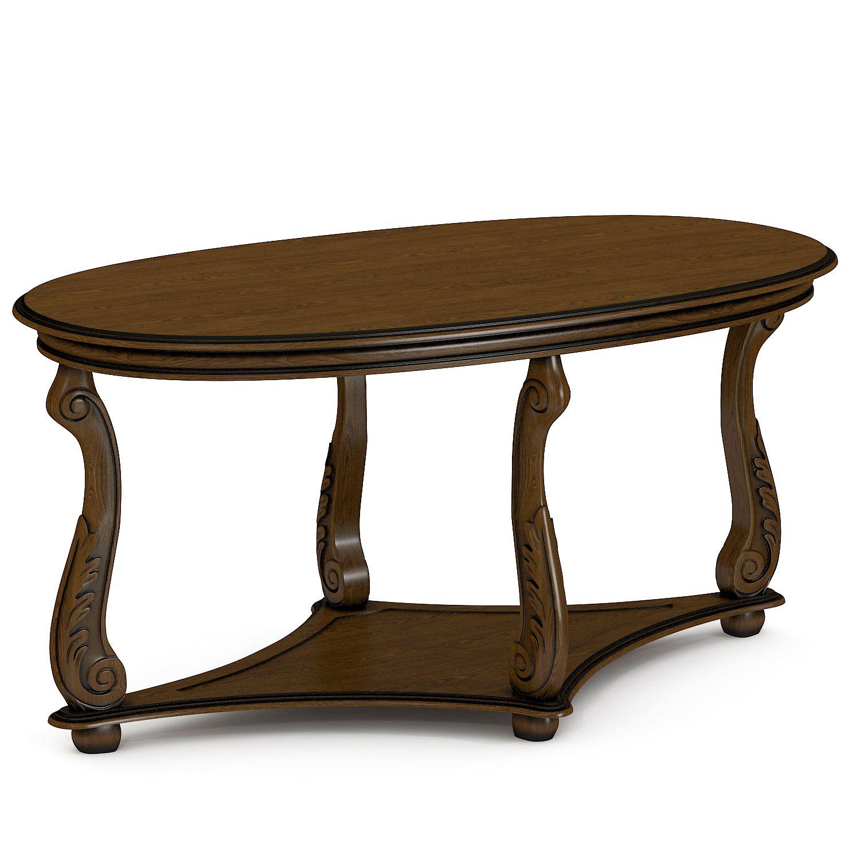 Купить журнальный стол из массива Тоскана №16
